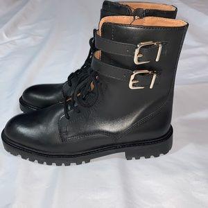 Antonio Melani Bertilli Combat Boots Size 7.5M